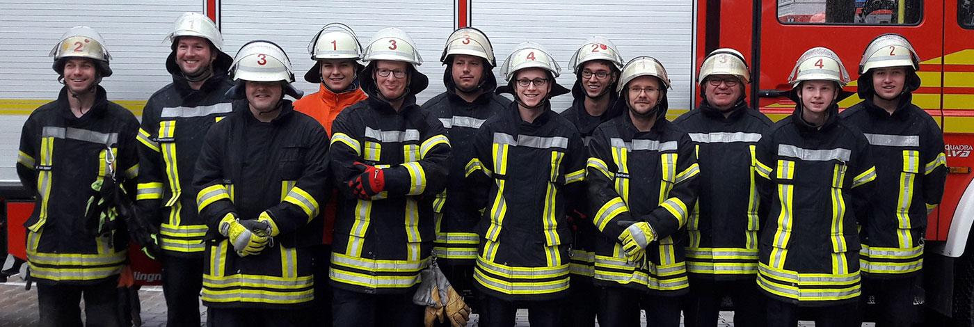 Feuerwehr Truppmannausbildung 2017