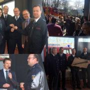 Schlüsselübergabe des neuen Gerätehauses an die Einheit Friedrichsfeld