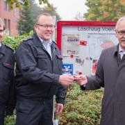 Volksbank Rhein Lippe stiftet Schaukasten