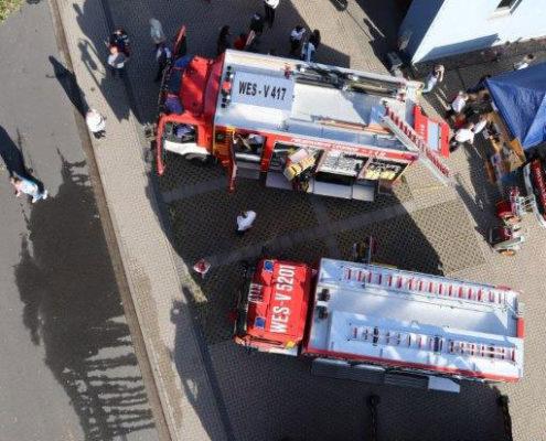 Brandschutztag im Voerder Stadtteil Möllen im September 2019