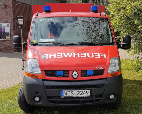 Tragkraftspritzenfahrzeug aus der Einheit Löhnen