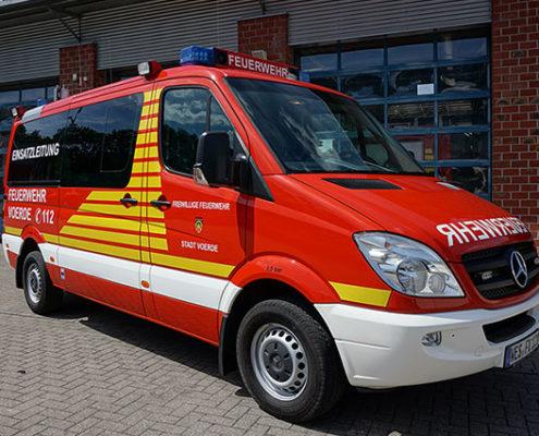 Feuerwehr Voerde Niederrhein - der Einsatzleitwagen