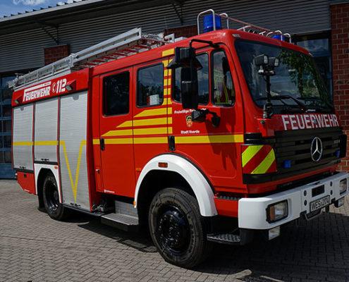 Feuerwehr Voerde Niederrhein - Löschgruppenfahrzeug 16/12