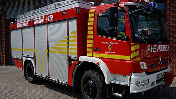 Feuerwehr Voerde Niederrhein - der Rüstwagen