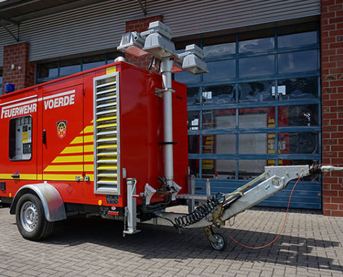 """Feuerwehr Voerde - Feuerwehr Anhänger """"Strom"""""""