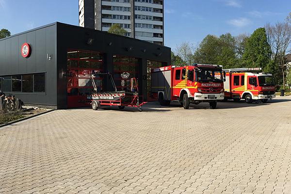 Neues Gerätehaus der Einheit Freidrichsfeld